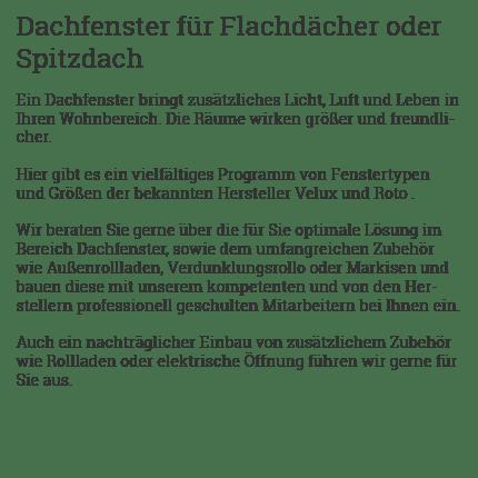 Dachfenster, Zimmermann aus  Rosengarten - Vohenstein, Tullau, Rieden, Berghof, Ziegelmühle, Wilhelmsglück und Raibach, Dendelbach, Zimmertshaus